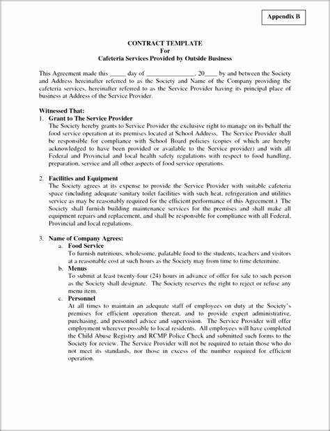 security company contract template security company contract template iranport pw