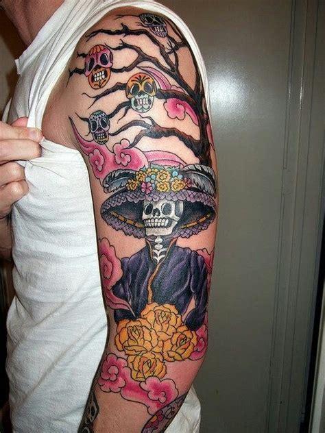 dia de los muertos tattoo dia de los muertos tattoos