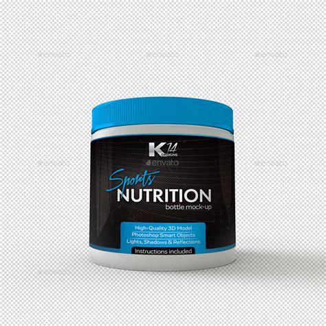 supplement bottle sport supplements bottle mockup by kir14 graphicriver
