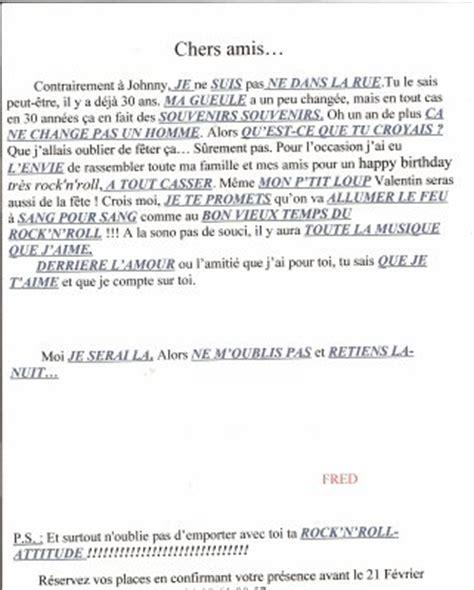 Exemple De Lettre D Invitation A Une Fete Modele Lettre Invitation Fete Gratuit