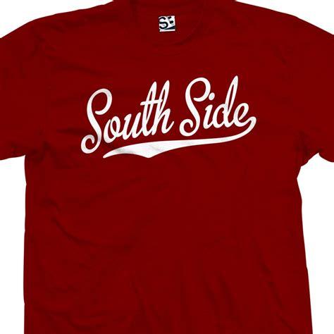 south side shirts south side script t shirt