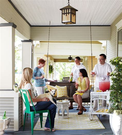 entertaining at home porch party casual outdoor entertaining ideas
