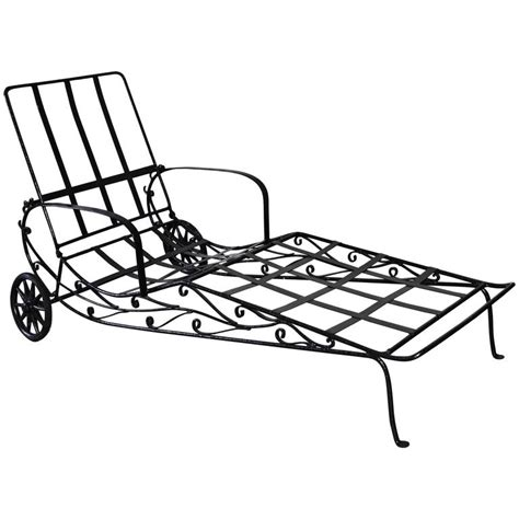wrought iron chaise vintage wrought iron chaise longue for sale at 1stdibs