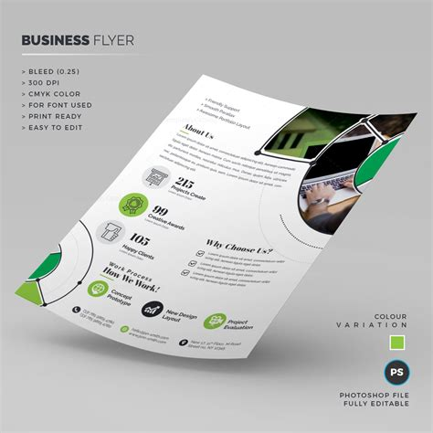 business flyer template print ready business flyer template 000256 template catalog