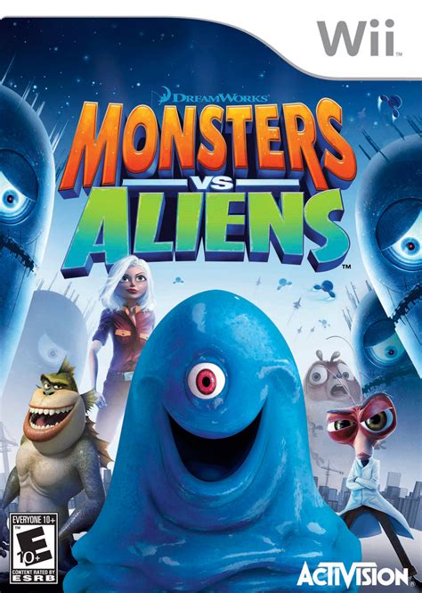 wii vs ps2 which has monsters vs aliens wii ign