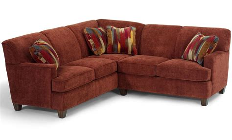 flexsteel sectional sofa flexsteel dempsey contemporary 2 sectional sofa with