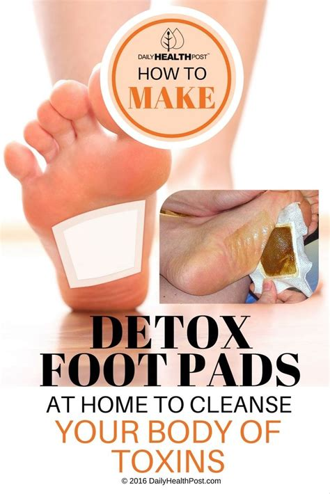 At Home Detox by How To Make Detox Foot Pads At Home To Cleanse Your