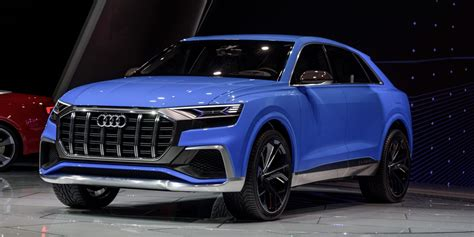 electric suv audi unveils new in electric q8 suv ahead of fully