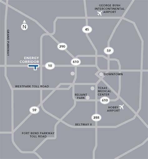 houston map energy corridor about the energy corridor district energy corridor district