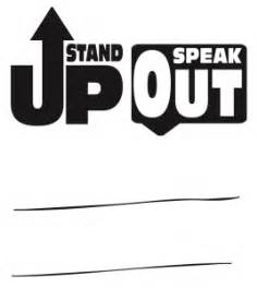 stand up how to get involved speak out and win in a world on books use character to stand up and speak out against bullying