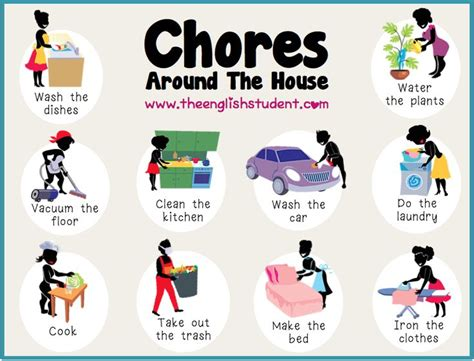 Home Chores | 17 best esl household chores images on pinterest english