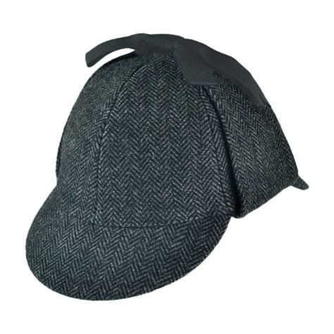 jaxon hats sherlock herringbone hat novelty hats