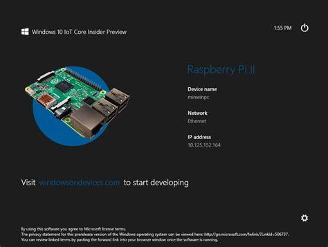 tutorial windows 10 iot windows 10 iot pe raspberry pi 2 electronul sărit