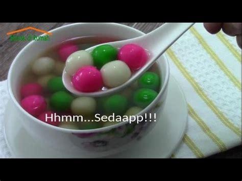 resep membuat onde onde kuah jahe resep cara membuat onde jahe tang yuan youtube