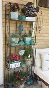 Outdoor Bakers Rack Ideas Shelf Bookcase Ideas On Corner Shelves Bakers