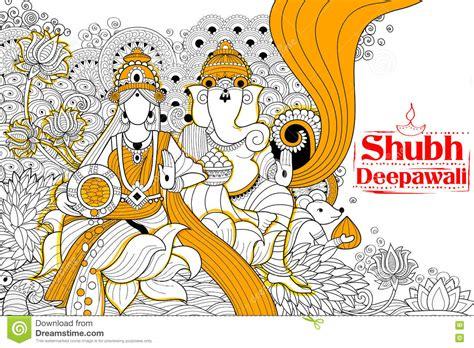 doodle god india indian goddess lakshmi for diwali festival celebration in