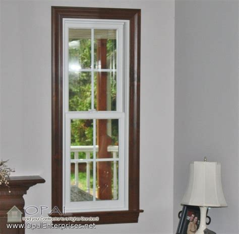 White Windows Wood Trim Decor Andersen A Series 100 Series White Windows Wood Interior Trim In St Charles Traditional