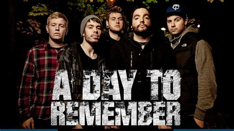 A Day To Remember Adtr welcome to my biografi quot a day to remember quot