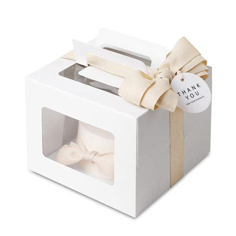 Dus Delicious 12 5 X 25 Packaging Kue 4 Mini Cake Boxes Boxes With Window Gable Boxes With Window Black Cake Box Boxes With Window