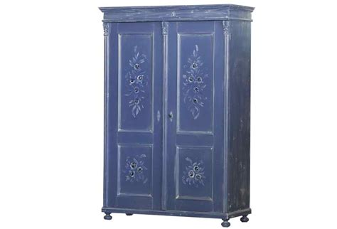 Blue Armoire by Antique Armoire Blue Omero Home