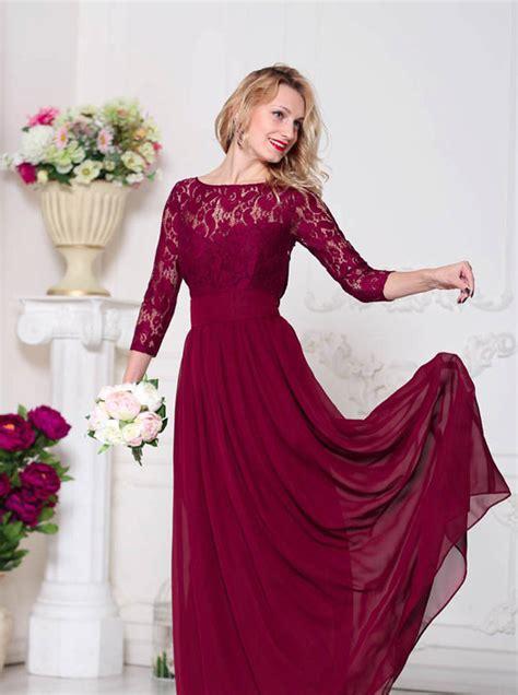 wedding dresses maroon colour burgundy bridesmaid dress marsala bridesmaid by