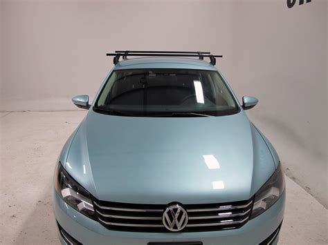 yakima roof rack for 2012 passat by volkswagen etrailer