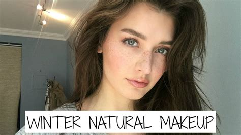 all natural organic makeup tutorial winter everyday natural makeup tutorial 2017 jessica