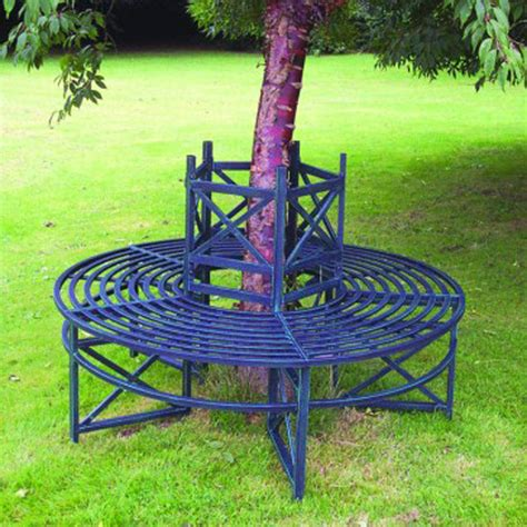 circular bench around tree blenheim tree bench by garden selections