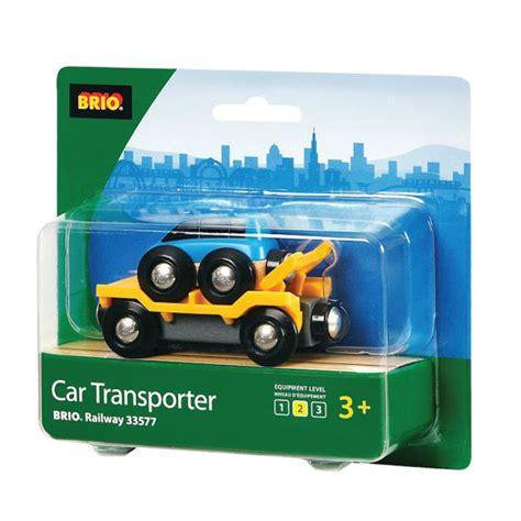 brio toy car brio blue transporter car toys zavvi com