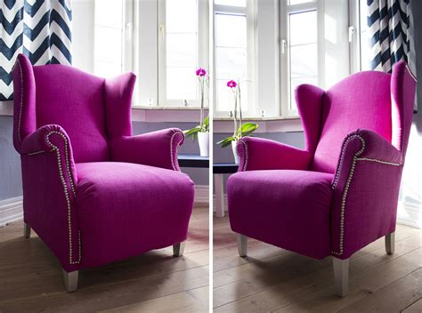 Magenta Chair by Image Gallery Magenta Chair