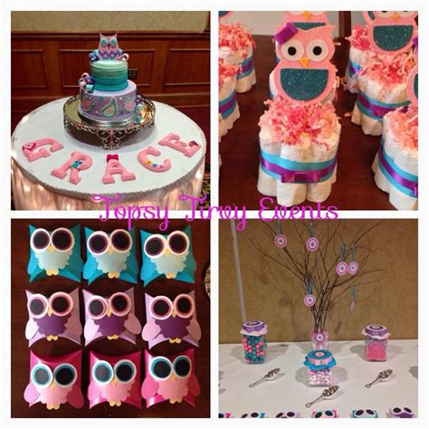 owl theme owl baby shower theme ideas my practical baby shower guide