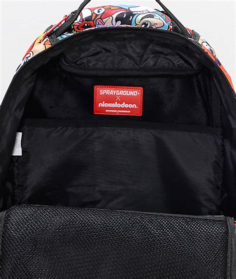 Anime 90 S Nickelodeon Backpack by Sprayground Anime 90s Nickelodeon Backpack Zumiez
