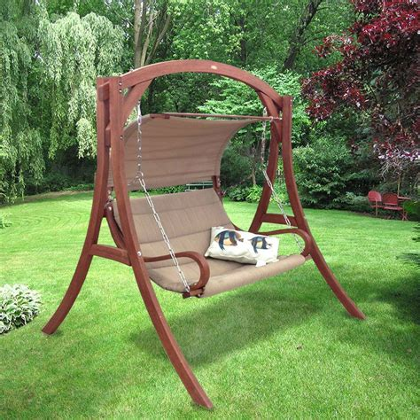 free standing bench swing patio swing canopy replacement person patio swing with