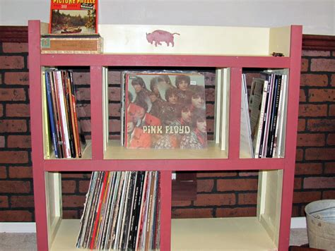 Vinyl Shelf by Record Shelf Vinyl Record Shelfcase Minimalist Family
