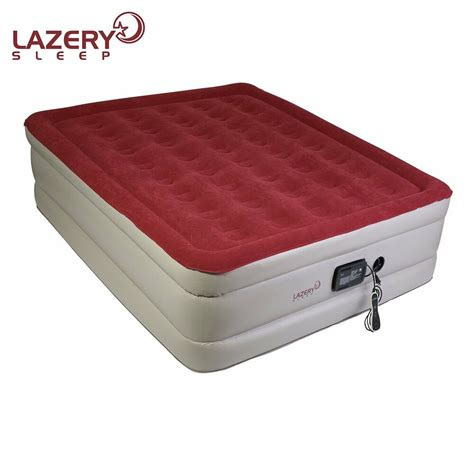 lazery sleep air mattress airbed with built in electric ebay