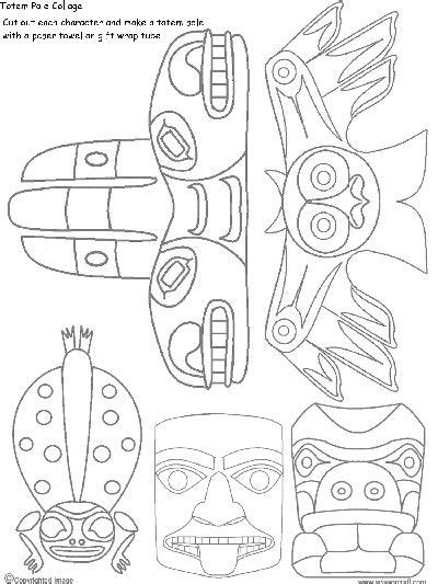 mar 25 how to draw a totem pole the pacific totems and
