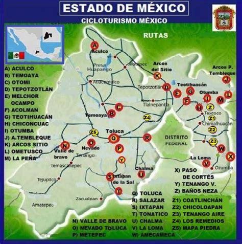consulta de fotomultas en estado de mxico cicloturismo y turismo en m 233 xico por estado 187 aa02