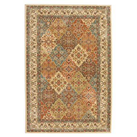 home decorators collection persia almond buff  ft   ft