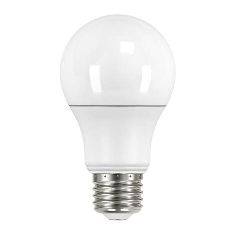 House Led Light Bulbs Maximus 40w Equivalent Soft White A19 Dimmable Led Light Bulb Ml6a19827300d The Home Depot