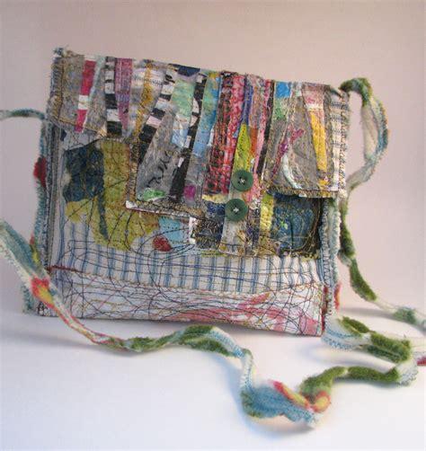 Handmade Cloth Purses - new boho wear u p c y c l e d