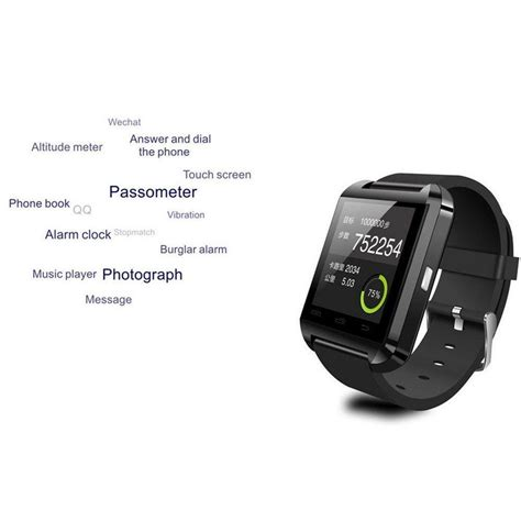 bluetooth smart android u8 bluetooth smart wrist phone mate for android