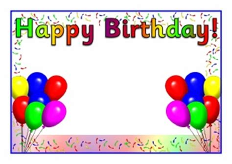 free birthday card templates for word 2007 birthday word template cimvitation