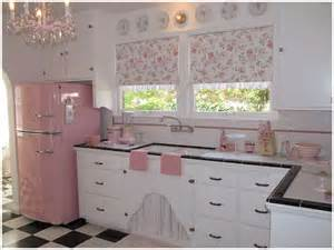 cute style kitchen:  the designs we have collected here  a kitchen with splashes of pink