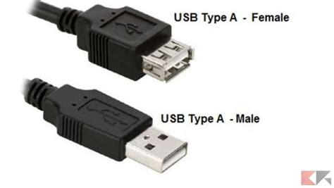 tipi di porte usb velocit 224 e differenza tra usb 2 0 usb 3 0 type c 3 1