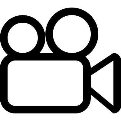 video camera outline ⋆ free vectors, logos, icons and