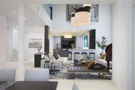 breezy miami estate residential interior design from