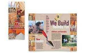 gifts for new apartment owners home builder contractor brochure template design