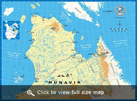 Home Design Stores Montreal map of nunavik northern arctic quebec