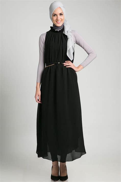 Baju Muslim Baju Gamis Terbaru Melky Overall Balotelly baju gamis hitam polos