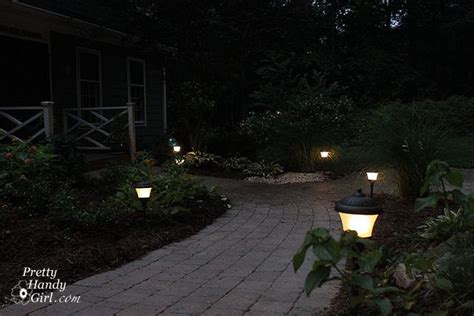 Installing Landscape Lights How To Install Low Voltage Landscape Lights Pretty Handy